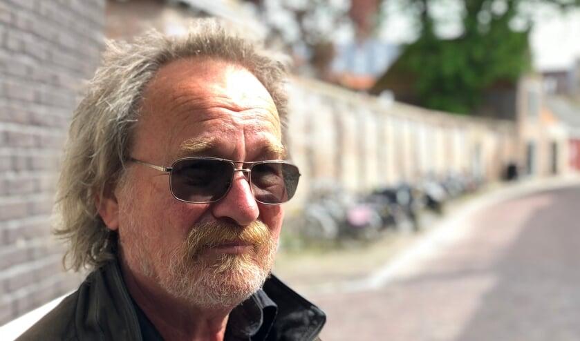 Jan JB Kuipers in de Beddewijkstraat in Middelburg, april 2018