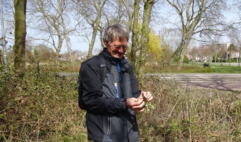 <p>Frans de Reeper van de Stichting Behoud en Beheer Nollebos/Westduinpark.</p>