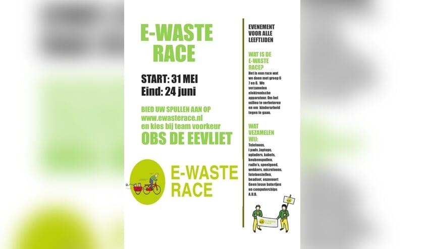 Flyer E-Waste Race
